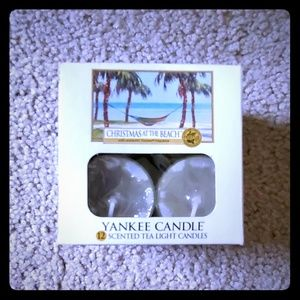 yankee candle Accents - Tea lights Christmas on the Beach